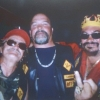 Left to right, Wayne (Weiner) Kellestine, Concrete Dave Weiche, John (Boxer) Muscedere Crown exhibit