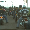 Procession as Calgary Rebels wooed by Bandidos in 2004 Julian Carsini photo
