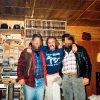 Wayne (Weiner) Kellestine (centre) in his home, surrounded by Nazi memorabilia Peter Edwards photo