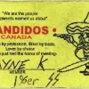 Wayne (Weiner) Kellestine's club membership card, with lightning bolts, to say he's a killer. Crown exhibit